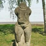 Постер, плакат: The Stone Woman Ancient Slavian idol