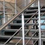 Modern metallic stairs...