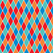 Harlequin parti-coloured seamless pattern 38