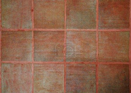 Beige ceramic tile texture