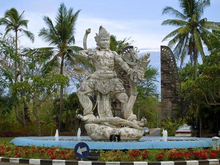 Balinese modern concrete sculpture