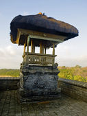 Traditional balinese temple structure