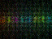 Abstract multicolor lights disco tile vector background