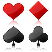 Playing cards suits