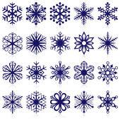 Snowflake shapes Set 1