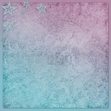 Photo pour Fond abstrait avec étoiles - image libre de droit