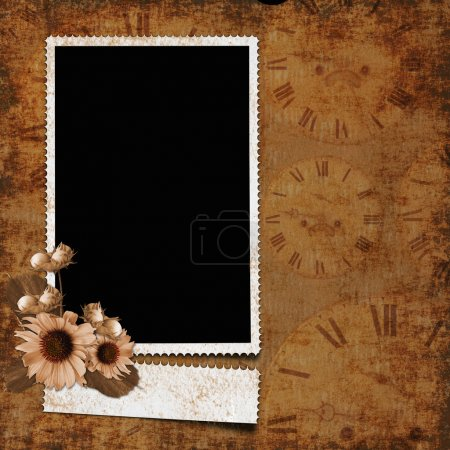 Photo for Framework for invitation or congratulation. - Royalty Free Image