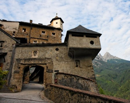Gate of medieval castle in Austria