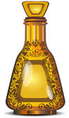 Figured bottle