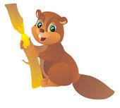 Beaver vector illustration