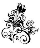 Floral ornament Element for design