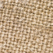 Sackcloth material background. Macro. Selective fo...