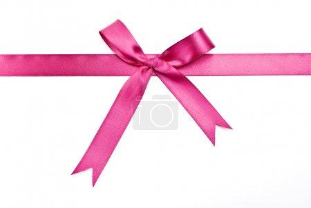 Gift satin ribbon and bow