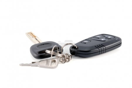 Automobile keys and charm from the auto