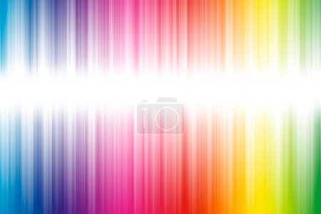 Photo for Abstract background from spectrum lines on a white background - Royalty Free Image