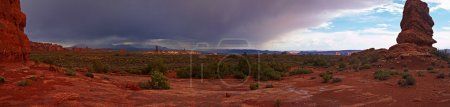 Red Desert after the Storm panorama