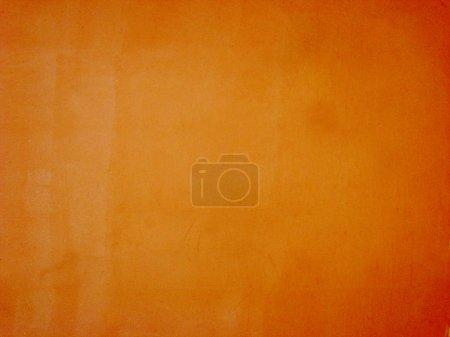 Bright spice orange wall background