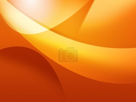 Cool orange background
