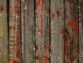Vintage red wooden wall - more similar a
