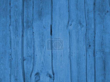 Blue vintage wall