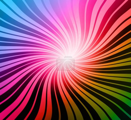 Colorful digital background