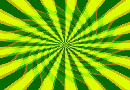 Photo pour Fond vert et jaune frais - image libre de droit