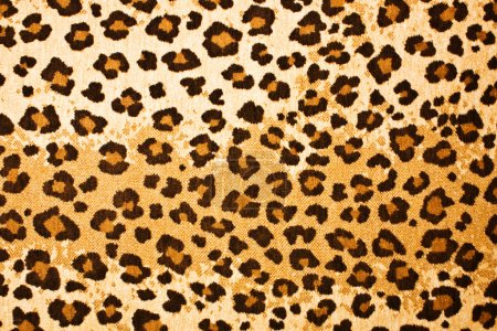 Leopard textured background
