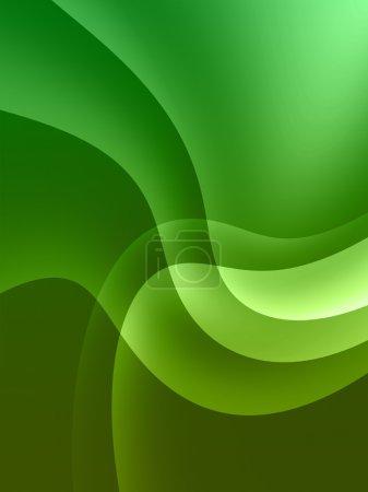 Photo pour Fond vert cosmique - image libre de droit