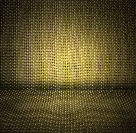 Yellow wicker textured background