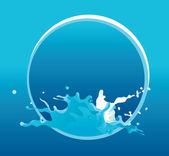 Vector water background