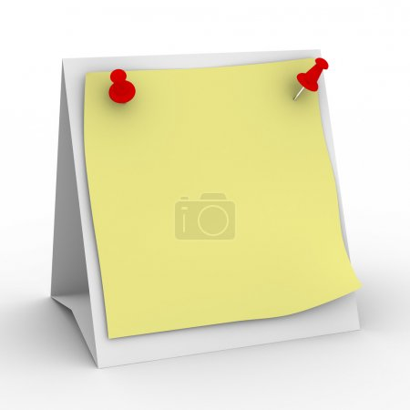 Notebook on white background. Isolated