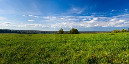 Photo pour Beau paysage d'été. La nature. Panorama - image libre de droit