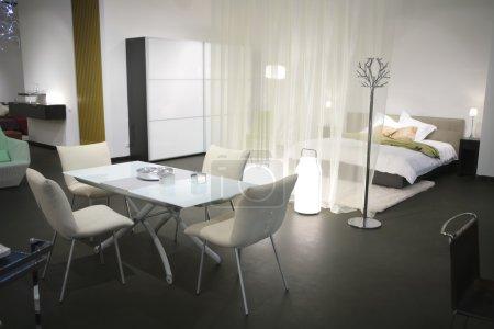 Modern dwelling studio