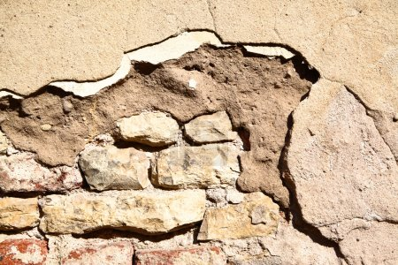 Photo for Ancient wall, may be used as background - Royalty Free Image