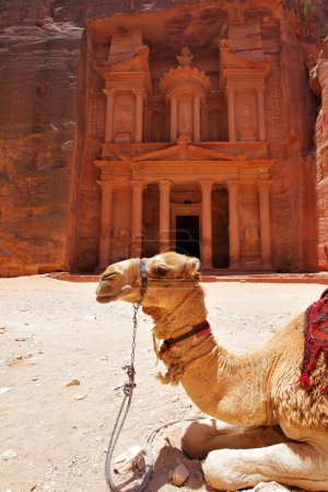 Treasury temple at Petra