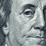 High definition Benjamin Franklin portrait from 10...