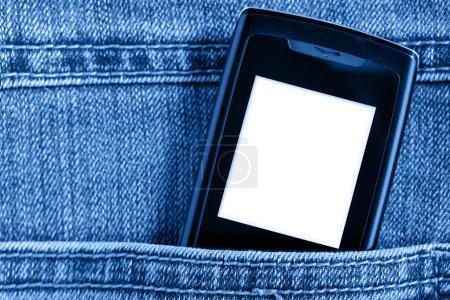 Cellular in jeans pocket