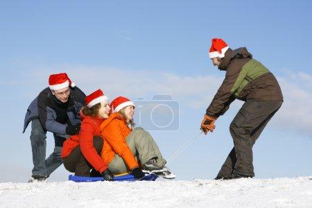 Christmas pastime