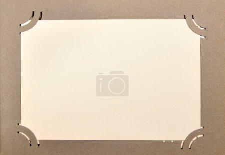 Page of photo album