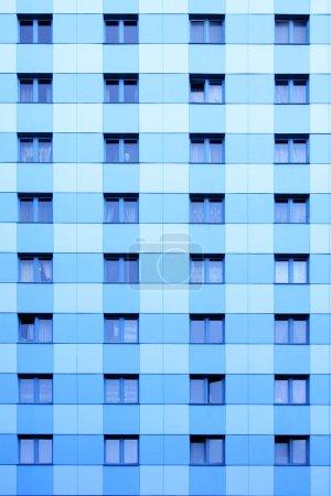 Photo pour Windows beaucoup de gratte-ciel moderne appartement. - image libre de droit