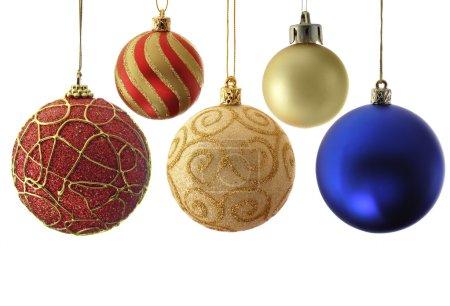 Variety christmas balls
