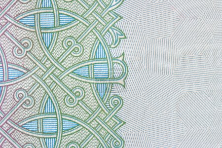 Money protective pattern