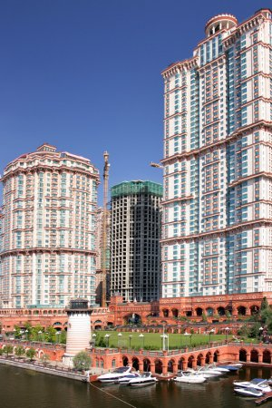 Moscow residential area