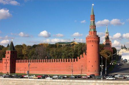 Photo pour Kremlin mur, Moscou, Russie - image libre de droit
