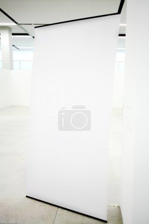 Foto de Cartelera vacío interior - Imagen libre de derechos