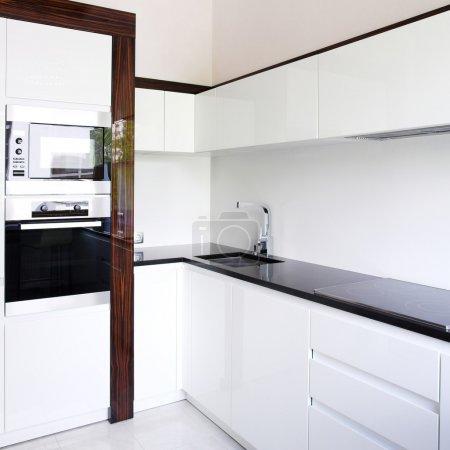 Kitchen interior corner