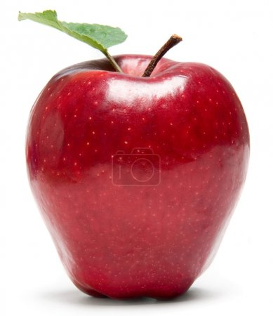 Photo for Fresh red apple - Royalty Free Image