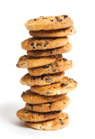 Photo for Chocolate chip cookies - Royalty Free Image