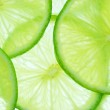 Lime slices...