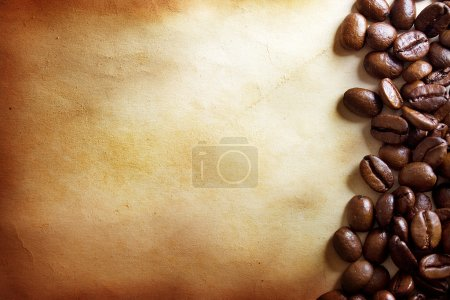 Photo for Coffee grunge background - Royalty Free Image